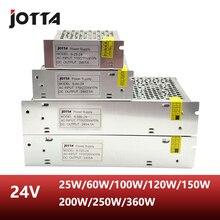 Купить с кэшбэком Free Shipping 24V LED Transformer Power Supply Switch Adapter For Led Strip Lights AC 110V-220V TO DC 24V Driver