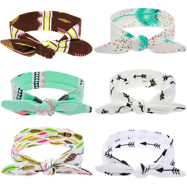 Girls Elastic Headband