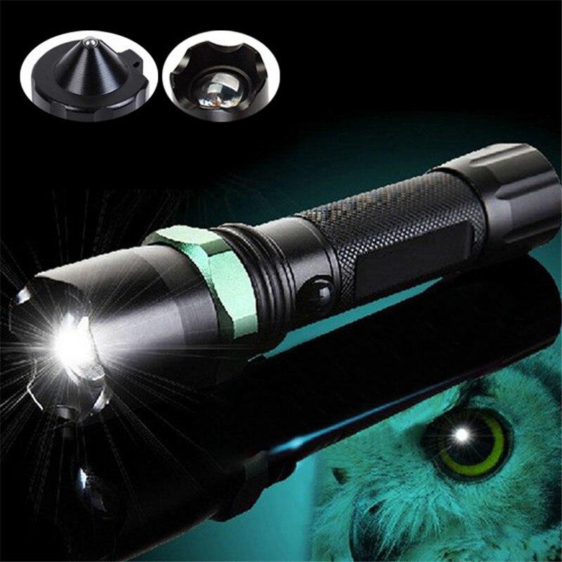 B2 New Waterproof Light XPE Q5 LED Zoom Light Lamp Flashlight 18650 AAA Torch 200M High Quality Aluminum Wholesales&Retails