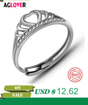 HTB1zyqjckfb uJjSsrbq6z6bVXaB 925 Sterling Silver Rings Woman Fashion Simple Couple Matte Rings Charming Female Lovers Jewelry