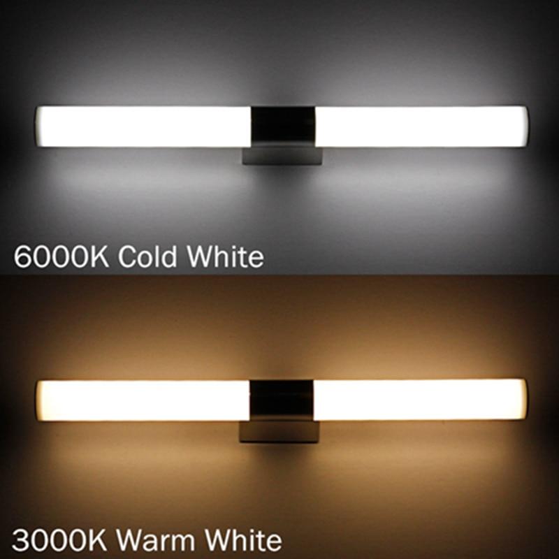 ФОТО Hot Sale New Design Modern Banheiro Deco Bathroom Mirror Light 12W 54CM LED Indoor Wall Light Lamp Wall Sconce Vanity Light Lamp