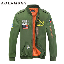 Bomber jacket men autumn thin ma1 pilot flight jackets embroidered badge flying tigers couples baseball uniform.jpg 250x250
