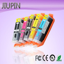 цена на JIUPIN 5pcs compatible ink cartridge PGI-650XL PGI650 CLI-651 for Canon PIXMA IP7260/MG5460/MG6360/MX726/MX926