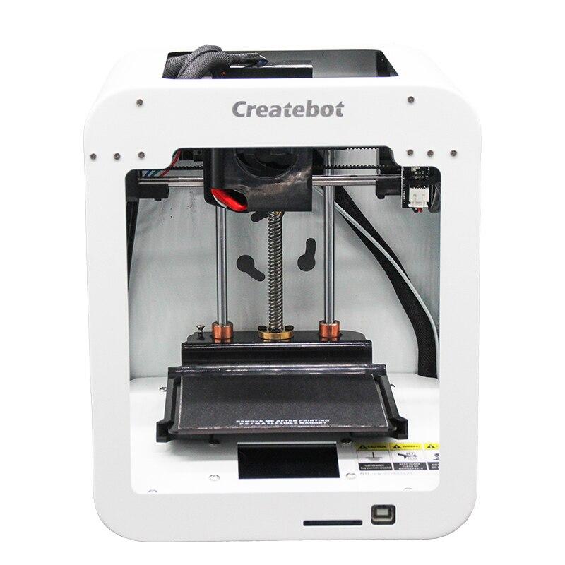 CreateBot coloré SuperMini imprimante 3D écran tactile boîtier en métal imprimante 3d haute précision 3D Drucker Impresora 3D
