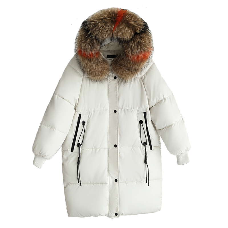 womens winter jackets and coats 2018   Parkas   for women thicken Wadded Jackets warm Outwear With a Hood Large Faux Fur Collar