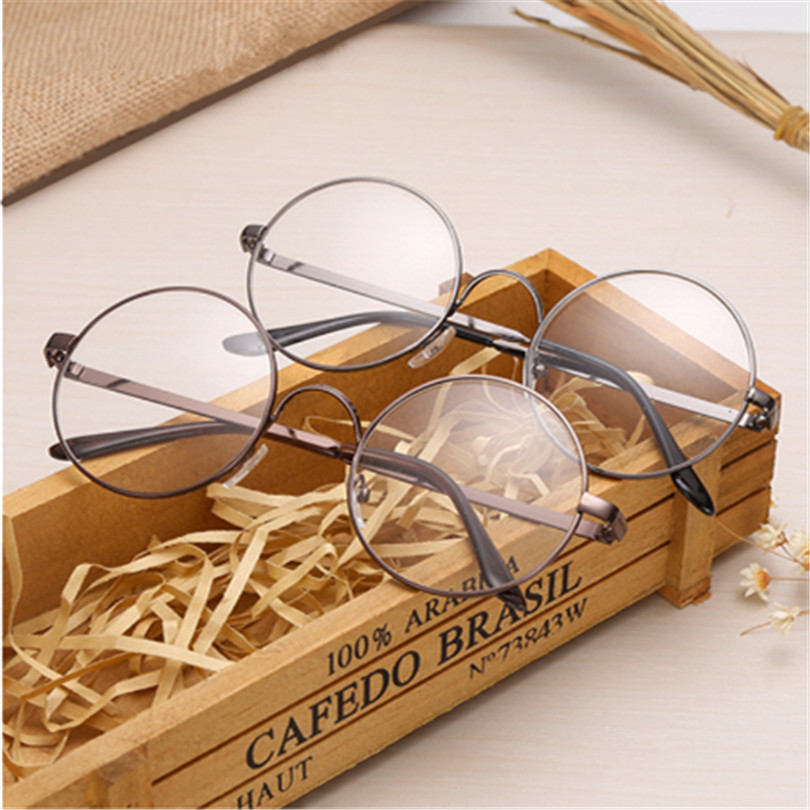 Hot Sale Luxury Glasses Frame For Male Female Transparent Glasses Round Spectacle With Clear Glass Women Men