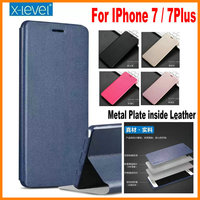 X Level X Level High Quality Classic Flip Stand Soft Cover PU Luxury Leather Case For