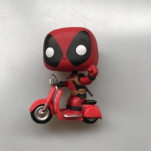 Original Funko pop Ride Marvel: Deadpool & Scooter Vinyl Action