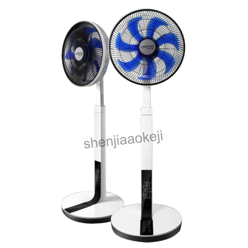 Intelligent silent remote control fan Household desktop DC frequency conversion power-saving floor fan mute Electric fans 220v