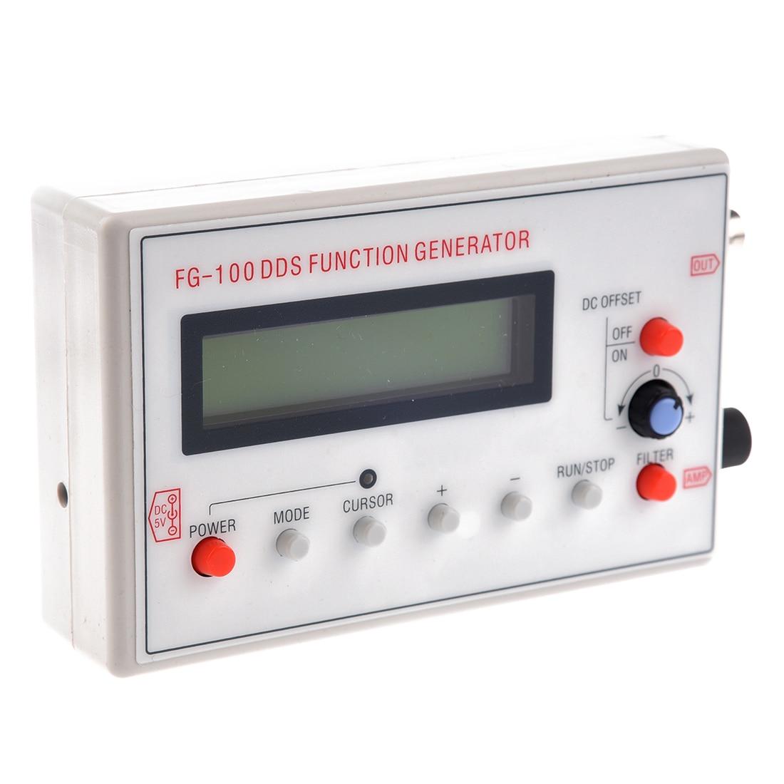 1HZ 500KHz DDS Function Signal Generator Module Sine+e+Square Wave +case