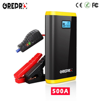 Car Jump Starter 9000mAh 500A External Car Battery 12V Multi function Vehicle Emergency Battery Booster Car Starter Power Bank|Jump Starter|Automobiles & Motorcycles -