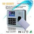 TX628 asistencia de huellas dactilares y RFID tarjeta de tiempo con TCP/IP USB 3000 capacidad de huellas digitales para el empleador attendancing