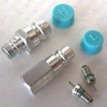 5 пар) автокондиционерный трубный клапан, основной клапан сиденья/наполнение сопла/быстроходный выпускной клапан/высокий и низкий фтористый клапан