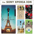 NEW TRANSPARENT PLASTIC CLEAR GEL PROTECTION CASE COVER FOR SONY XPERIA ION CASE FOR SONY XPERIA LT28I LT28H ION COVER