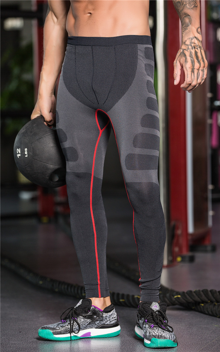Compression Pants Long Fitness Leggings Quick Dry Sweat Slim Body Base Layer Tights Crossfit Trousers Elastic Clothing