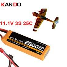 3 s 25c 11,1 v 2600 mah aeromodeling литиевая батарея модель самолета литий-полимерная батарея самолет Дрон батарея
