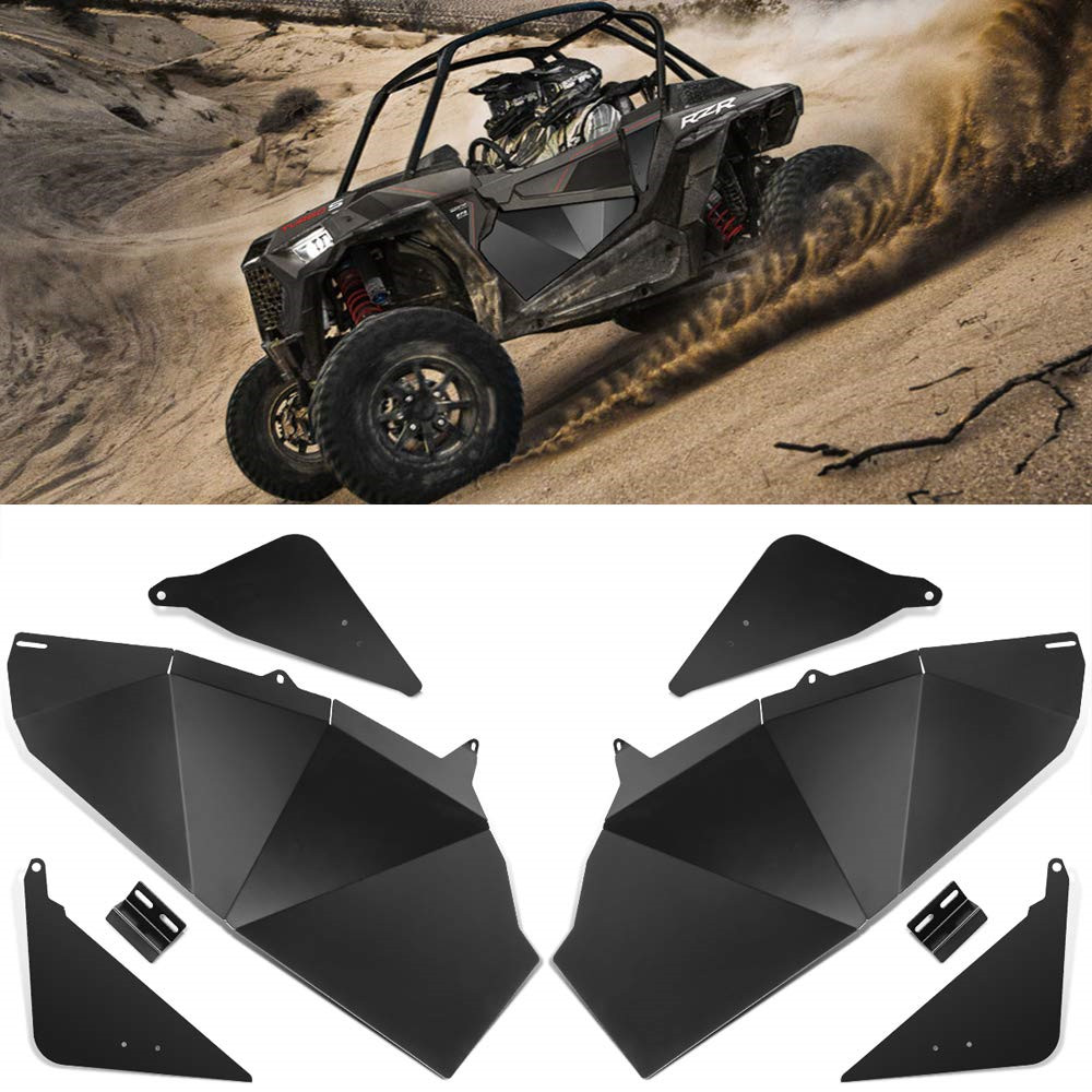KEMiMOTO UTV Lower Door Panel Inserts For Polaris RZR 900 XC RZR S 900 RZR S