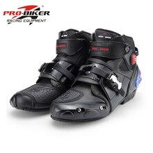 Ботинки в байкерском стиле; высокие гоночные ботинки; байкерские кожаные ботинки для мотокросса и езды на мотоцикле; обувь; A09003