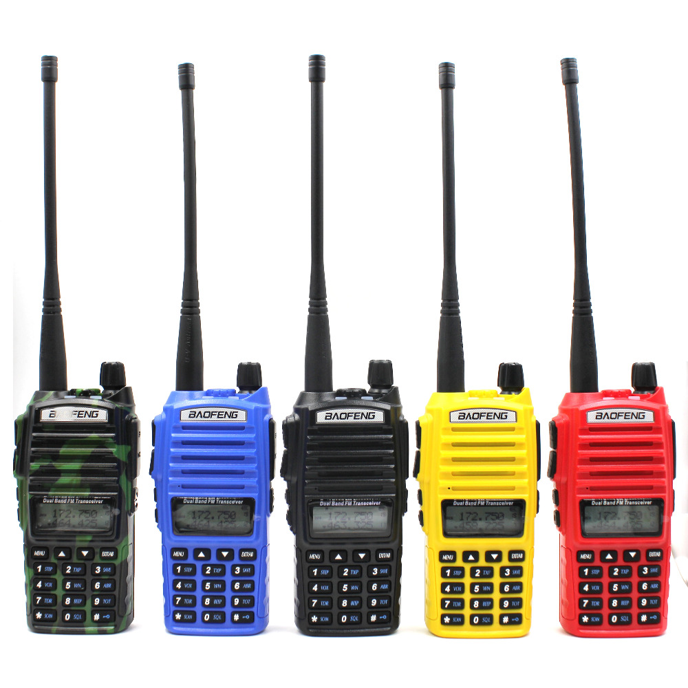 Original BaoFeng UV-82 Walkie Talkie 5W 136-174MHz & 400-520MHz Two Way Radio Baofeng Ham Radio Baofeng Uv82