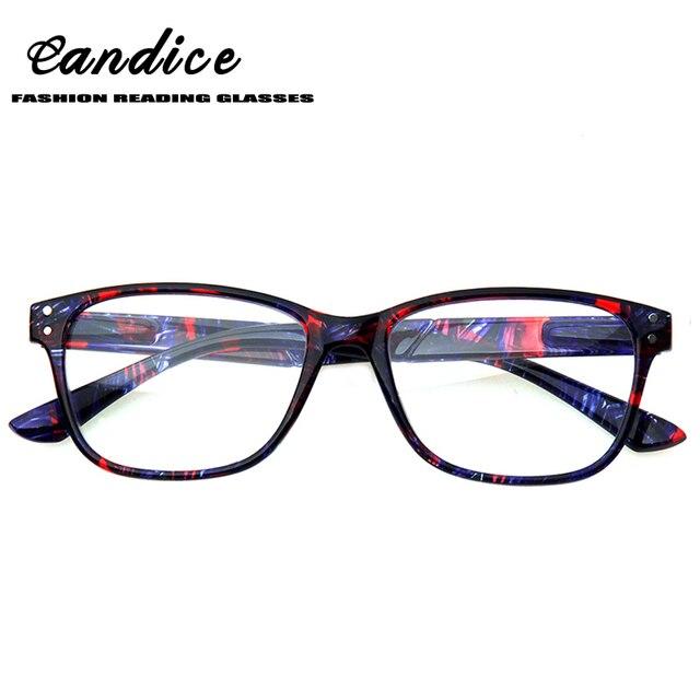 2a8fb4550f45f Óculos de leitura Popular Moderna Design Pattern Eyewears Flexível Primavera  Dobradiça Óculos De Leitura para Homens