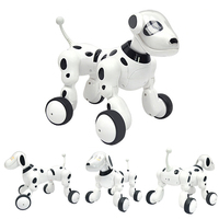 Robot Dog Electronic Pet Intelligent Dog Cat Robot Toy 2.4G Smart Wireless Talking Remote Control Kids Gift For Birthday