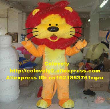0d280fe2d Lion Beast Animal Mascot Costume Adult Cartoon Character Suit Entertainment  Performance Corporate Communications zz6388