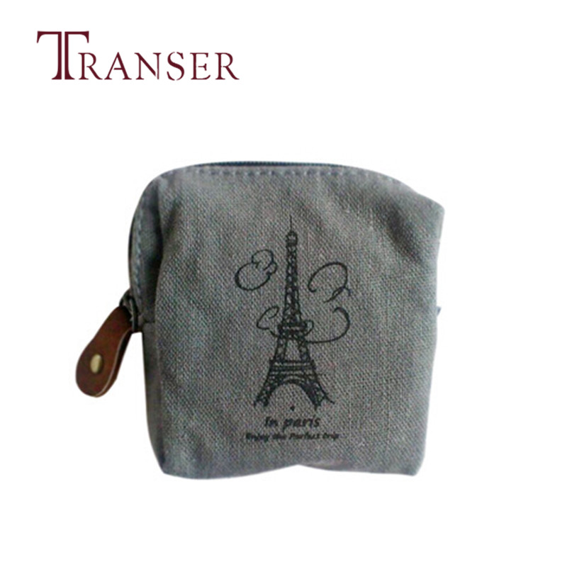 TRANSER Mini Coin Bag Classic Retro Canvas Purse Wallet Card Key Pouch Case Card Holder Girl Casual High Quality Zipper Aug17 j m d hot sale high quality classic brown real leather mini wallet purse key case men s hand bag cartera freeshipping 8023b