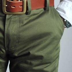 RGT-0003 guerra mundial 2 pantalones de hombre de oficial del ejército de EE. UU. 9oz pantalones de algodón casual chino