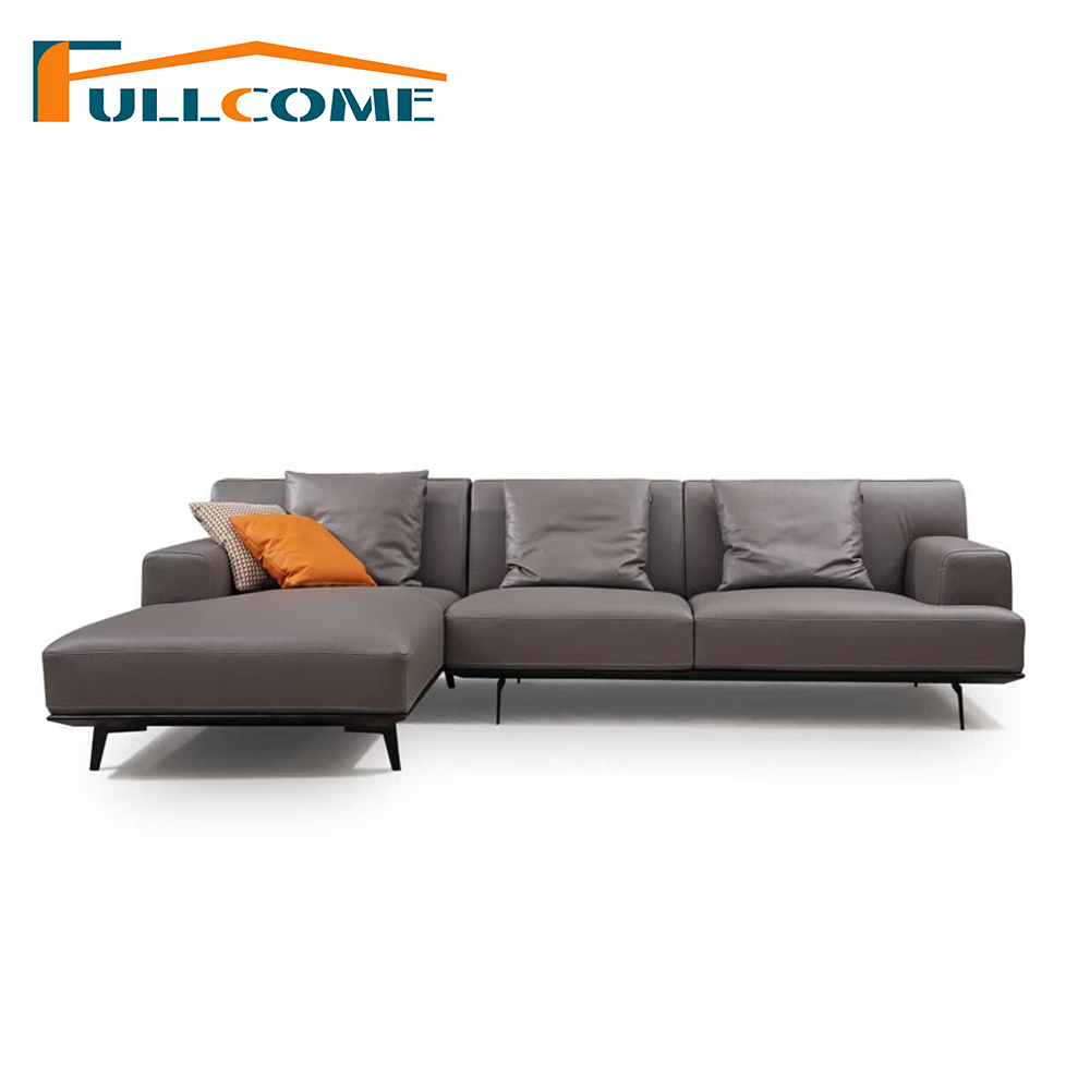 China Luxury Home Furniture Modern Leather Scandinavian Sofa Love Seat Chair Living Room Furniture Down Italian Sectional Sofa luxury royal set sofa italian leather president room sectional sofa hot selling living room sofa oil wax leather sofa 1 2 3 seat