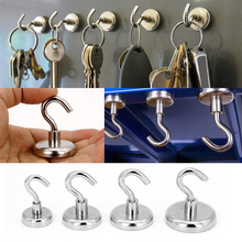Strong Magnetic Hook Mini Heavy Duty Hanger Durable For Home Kitchen Refrigerator HFing