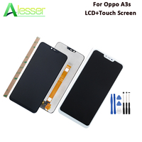Alesser For Oppo A3s LCD Display And Touch Screen 6.2'' Digitizer Assembly Replacement For Oppo A3s Phone Accessories +Tools
