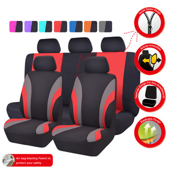 Car-pass Automobiles  Universal Seven Color Car Seat Cover Car-Styling Seat Covers  Fit Interior Accessories Seat Decoration 8