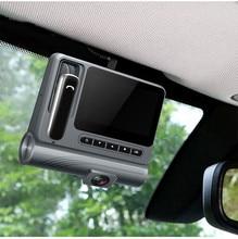 1080P Car DVR Hidden Driving Recorder Bluetooth Headset Wireless Charging Hands-Free