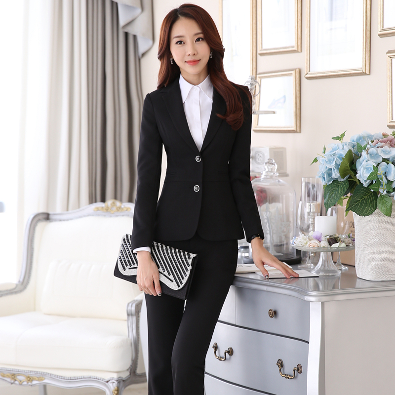 Online Get Cheap Black Pant Suits Women -Aliexpress.com | Alibaba ...