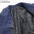 Los hombres de la Tela Escocesa Blazers Trajes Slim Fit Traje Chaqueta de Algodón Marca de Alta calidad Casual de Negocios Vestido de Abrigo Más El Tamaño M-6XL Azul Marino J018