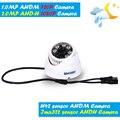 HD 720 P/1080 P Câmera Dome AHD 1MP/2MP CMOS de Segurança Vídeo HD analógico Câmera Night Vision IR 20 M Câmera de CCTV Ahd Interior câmera