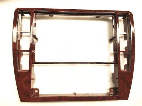 Para VW Passat b5 caixa instrumento central decoração caixa de CD ar condicionado painel de madeira preta cereja