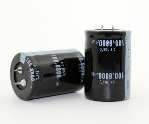50PCS-2PCS 6800UF 100V 100v6800uf Electrolytic Capacitor Radial 35x50mm