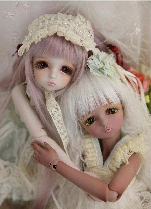 sd / bjd doll / 4 bjd doll free shipping 1/4 baby girl leeke mikhaila