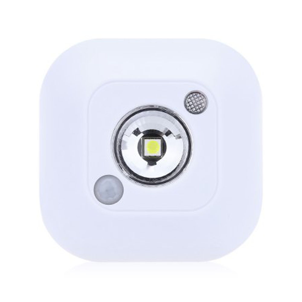 LED Night Light Mini Wireless Motion Sensor Ceiling Led Nightlamp PIR Intelligent Human Body Motion Wireless Induction Wall Lamp auto pir led keyhole light genjia human body infrared door lock induction lamp built in 4 led motion sensor light with sticker