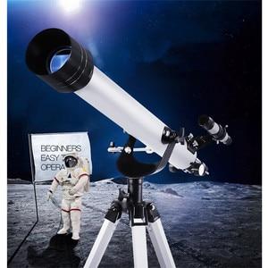 Image 2 - XC USHIO 675 Mal Zoomen Outdoor Monokulare Raum Astronomische Teleskop Mit Tragbaren Stativ Spektiv 900/60m Telescopio