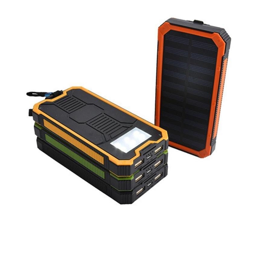 NewCARPRIE 8000 мАч Dual USB Портативный Солнечный Батарея Зарядное устройство солнечный Мощность Bank для телефона NEWdrop shopping
