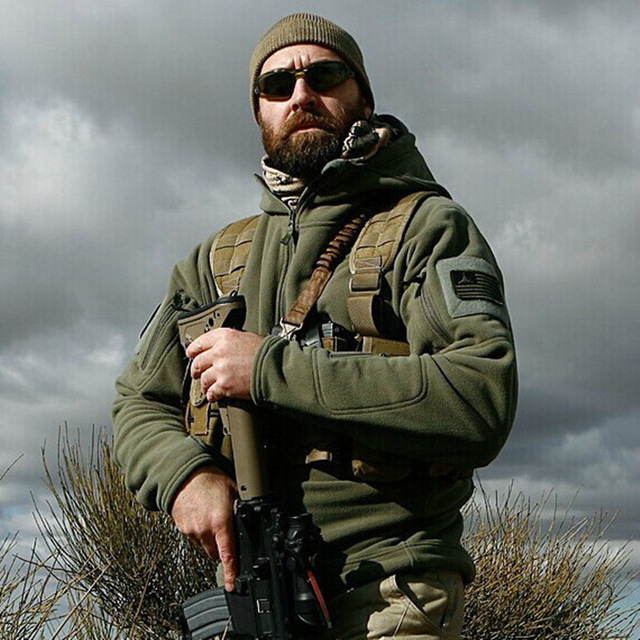 Ons Militaire Fleece Tactische Jas Mannen Thermische Buiten Polartec Warm Hooded Jas Militar Softshell Hike Bovenkleding Leger Jassen