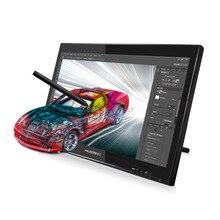Горячая распродажа Huion GT-190 19-inch жк-монитор цифровой графический монитор жк-интерактивный перьевой дисплей сенсорный экран рисунок монитор с подарок