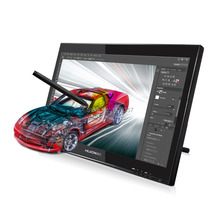 Hot Sale Huion GT-190 19-inch LCD Monitor Digital Graphic Monitor Interactive Pen Display Touch Screen Drawing Monitor With Gift(China (Mainland))