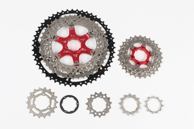 MTB mountain bike Bicycle 11 Speed 50T aluminum alloy flywheel freewheel cassette 570g gigi маска пилинг черная пептидная вторая кожа 50 мл