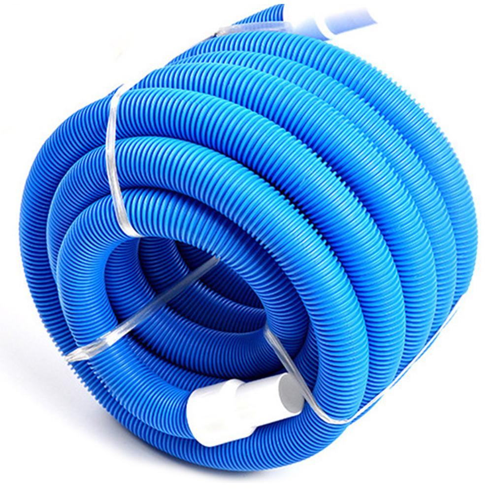 Swimming Pool Cleaner Vacuum Hose With Swivel Cuff 1.5 Inch Swimming Pool Double Layer Suction Pipe Cleaning Accessories
