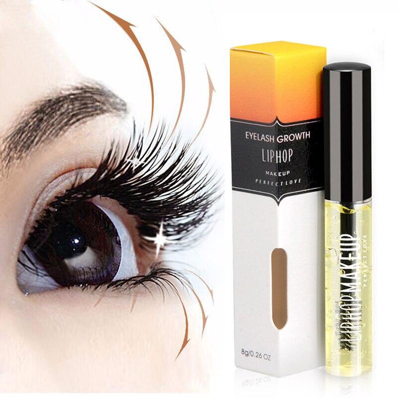 Professionnel Liphop Marque Cometics Croissance des Cils Allongement Épais Maquillage Kit L'amélioration Des Cils Croissance Traitements