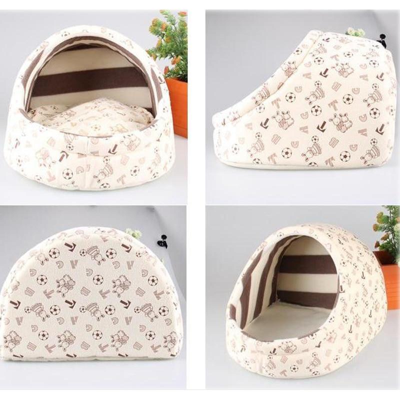 Милая собака кровати для маленьких собак кошки кровать дом принцесса ПЭТ спальный мешок теплый мягкий teddyn йорки питомник тапочки дизайн товаров для фуршета домашние животные