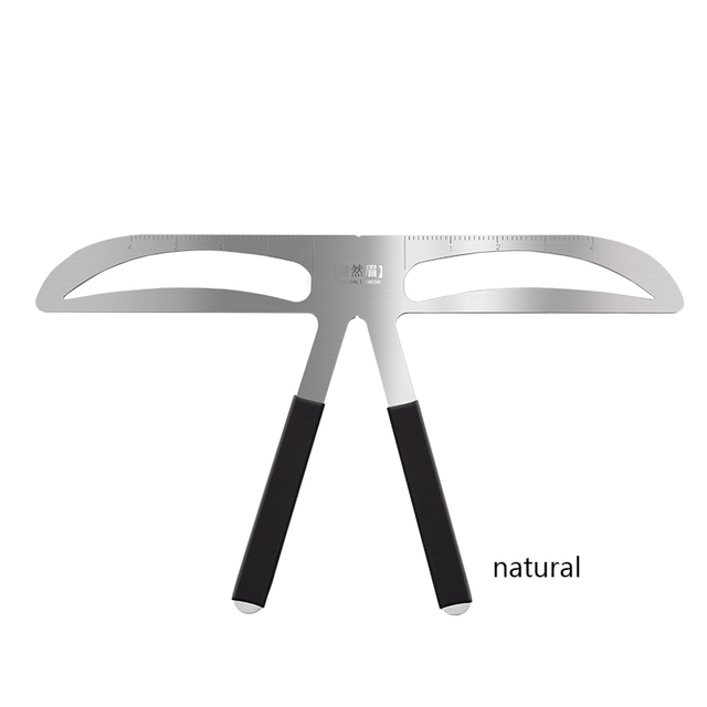 Microblading Eyebrow Balance Ruler Metal Tattoo Shaping Stencil Permanent Makeup Caliper Eyebrow Ruler 5
